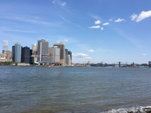 View of Lower Manhattan from Governors Island, take 2.